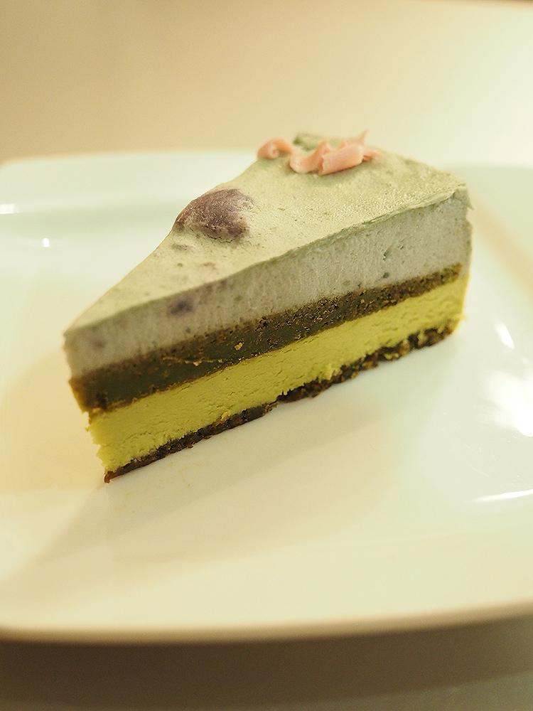 Japanese Yam & Matcha Cake