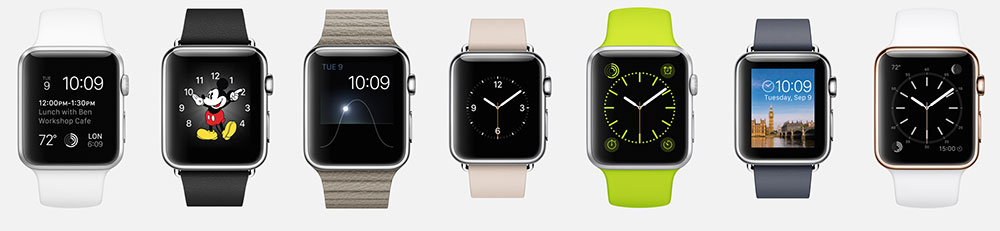 Apple Watch - Watchfaces