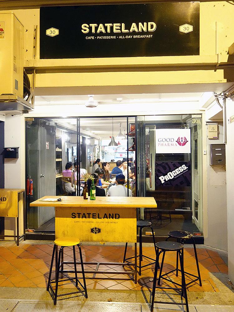 Stateland Cafe @ Bali Lane